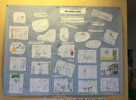 les ateliers philo à l'école montessori bilingue du Bugey