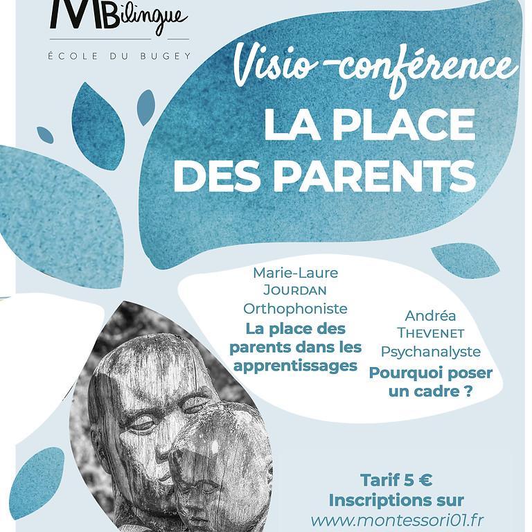 Visioconférence - La place des parents