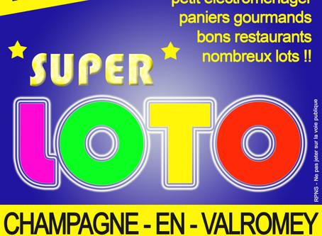 Loto reporté : un soutien des entreprises et sponsors toujours aussi important