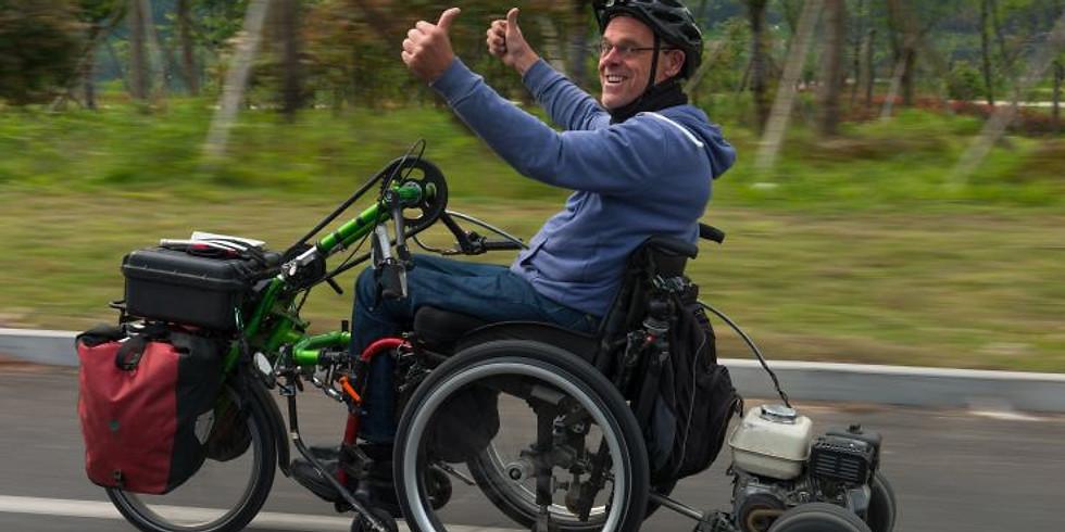 Andreas Pröve - mit dem Rollstuhl von Shanghai nach Tibet