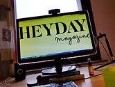 Logo Heyday Magazine