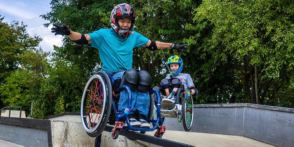 Weltmeisterschaft der Rollstuhlskater 2019