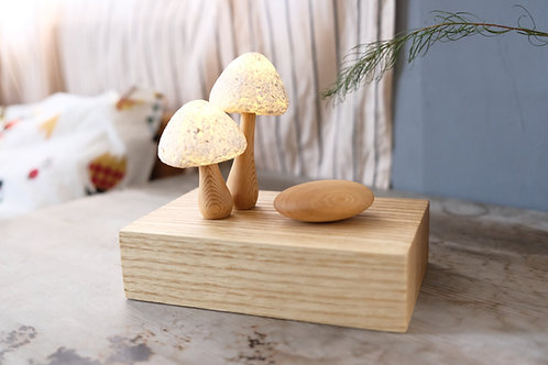 The Mushroom Family | night light