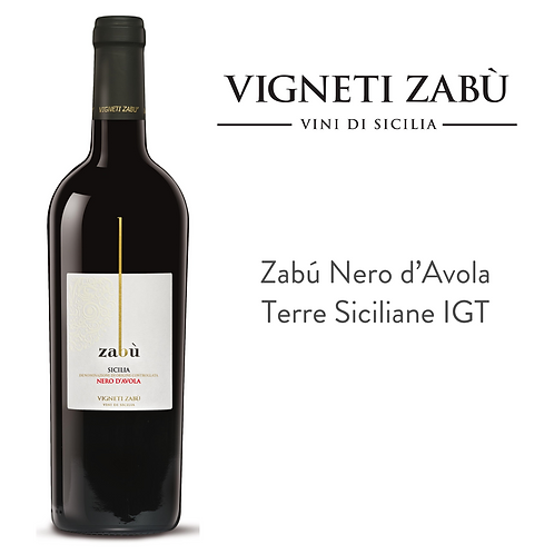 Zabú Nero d'Avola 750 ml