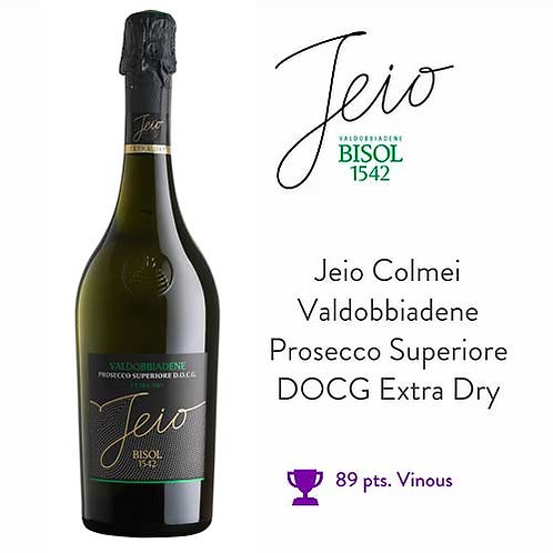 Jeio Colmei Valdobbiadene Prosecco Superiore DOCG Extra Dry 750 ml