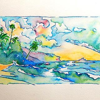 The Grange Beach, Tobago, W.I.