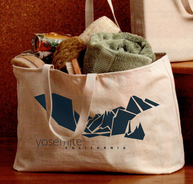 Tote back Valley art