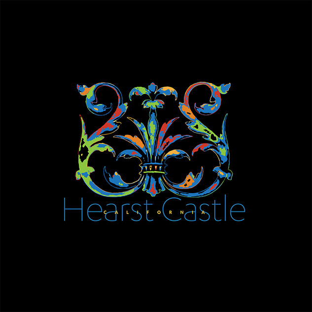Hearst Castle Decal art