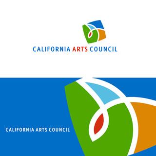 CA Art Council logo, core brand identity.