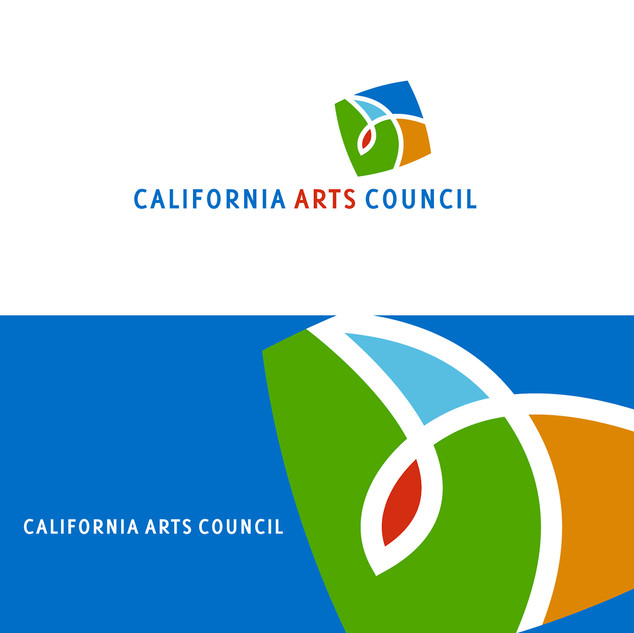 CA Art Council logo, core brand identity.