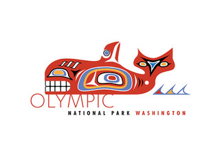 Olympic National Park icons
