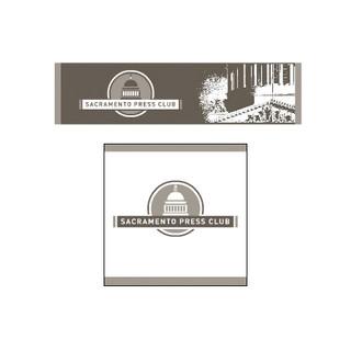 Sacramento Press Club logo and identity