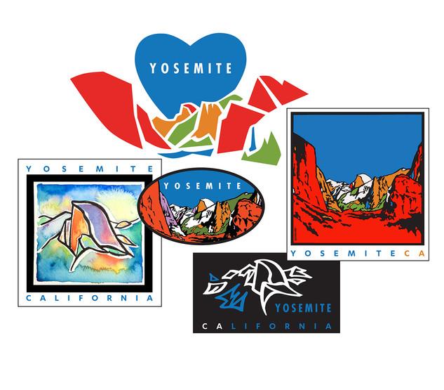 Yosemite stickers