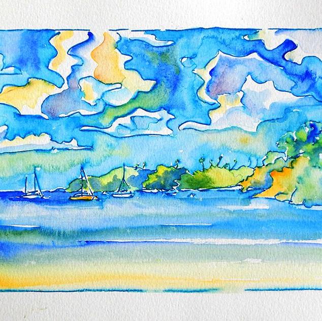 Mt. Irvine Bay, Tobago.