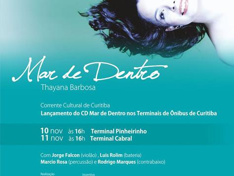 Mar de Dentro na Corrente Cultural de Curitiba