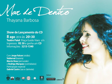 Catarse 100% Financiado, confirmado show no Teatro Paiol no dia 08 de agosto