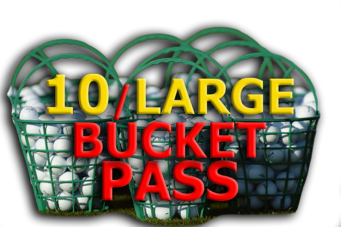 10 LARGE BUCKET PASS