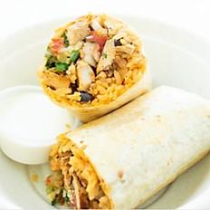 10 Chicken Burrito Bar