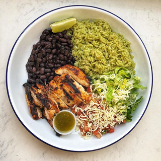 Lime Chicken Bowl - real food served fre