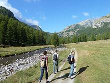 Boucles dans le Mercantour, sous le Bégo, altitude et gravures, entre lacs et sommets