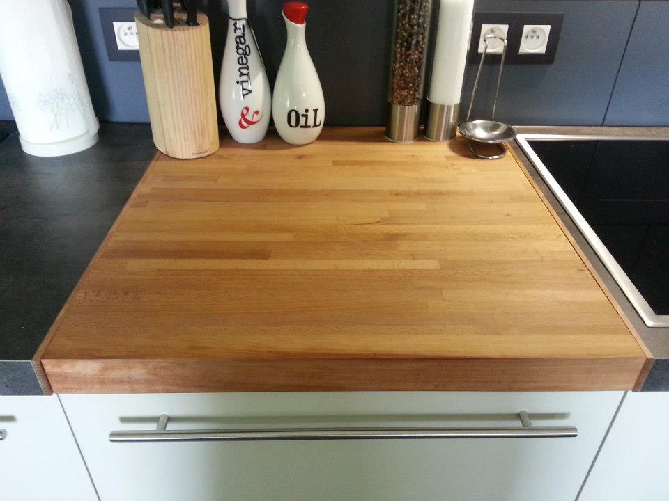 Keuken Ingewerkt houten snijplank