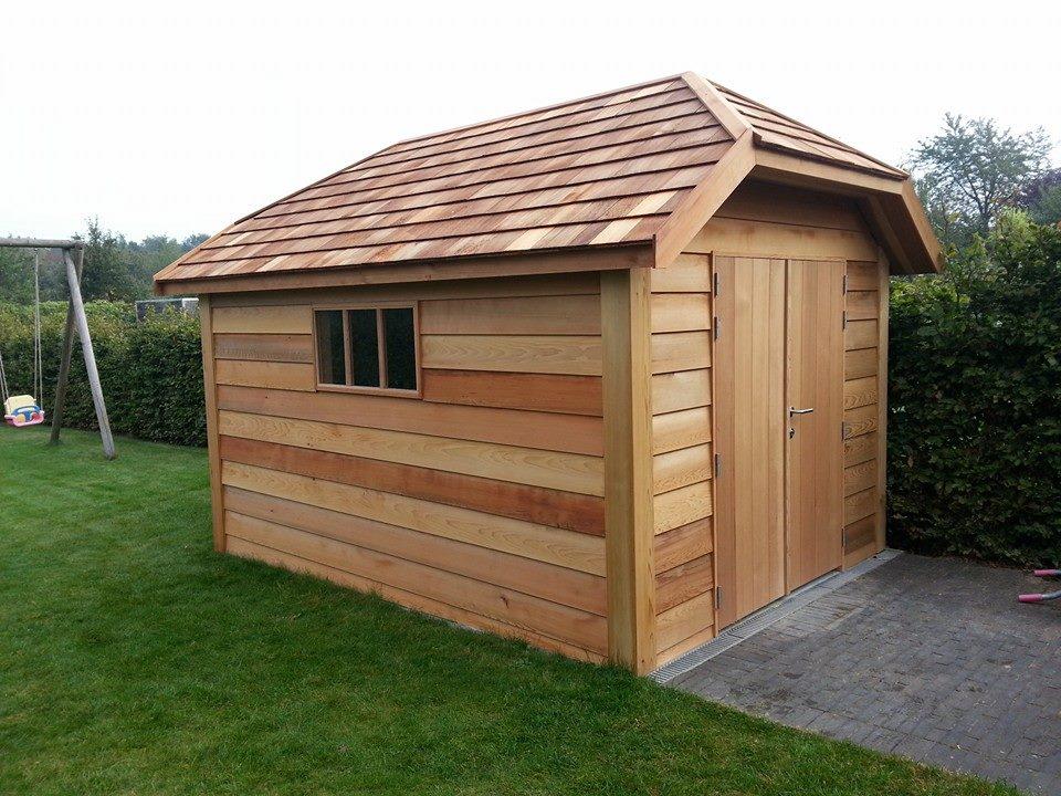 Tuinhuis Ceder hout