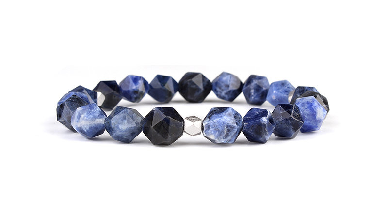 American Dumortierite Men's Bracelet