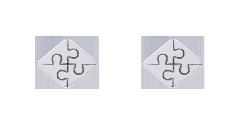 Geometry Ear Stud Unisex