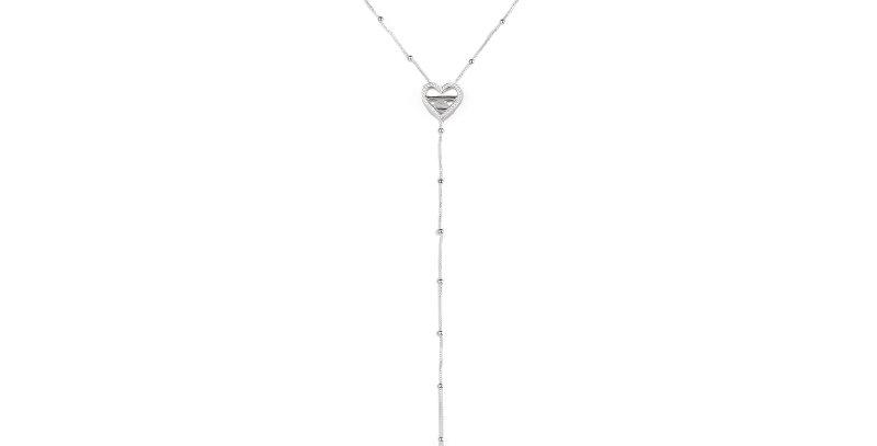 Heart Shape Clavicle Necklace Pendant