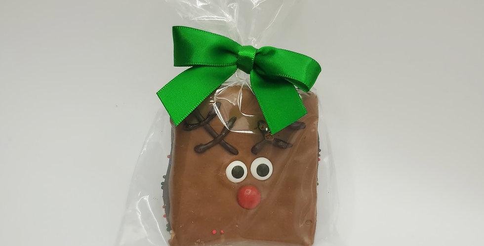 Graham Cracker Reindeer