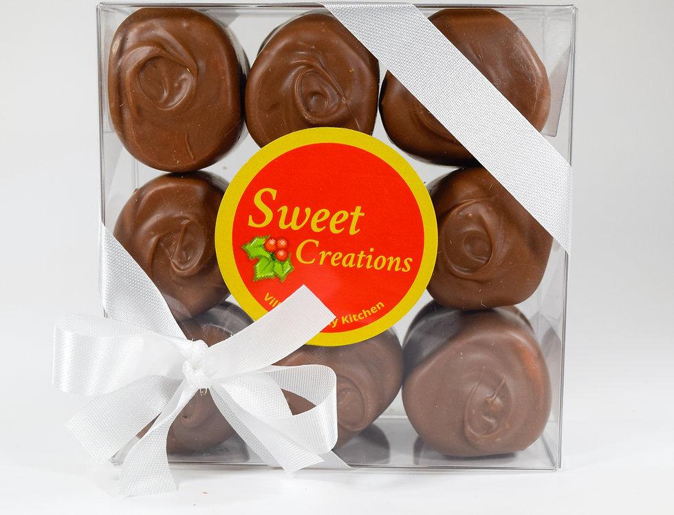 Milk Chocolate Covered Marshmallows