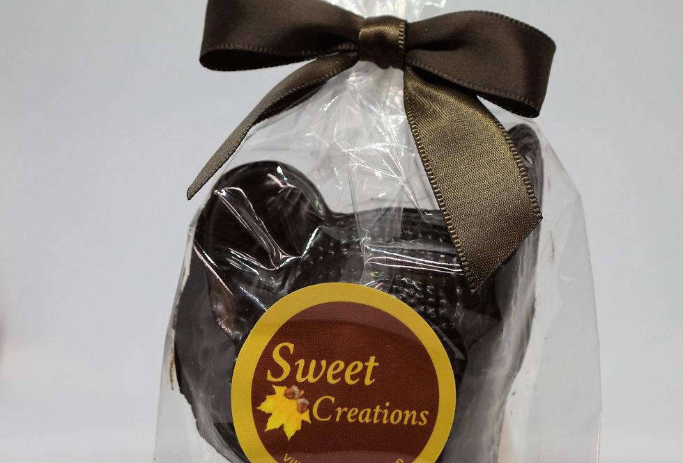 Solid Dark Chocolate Turkey