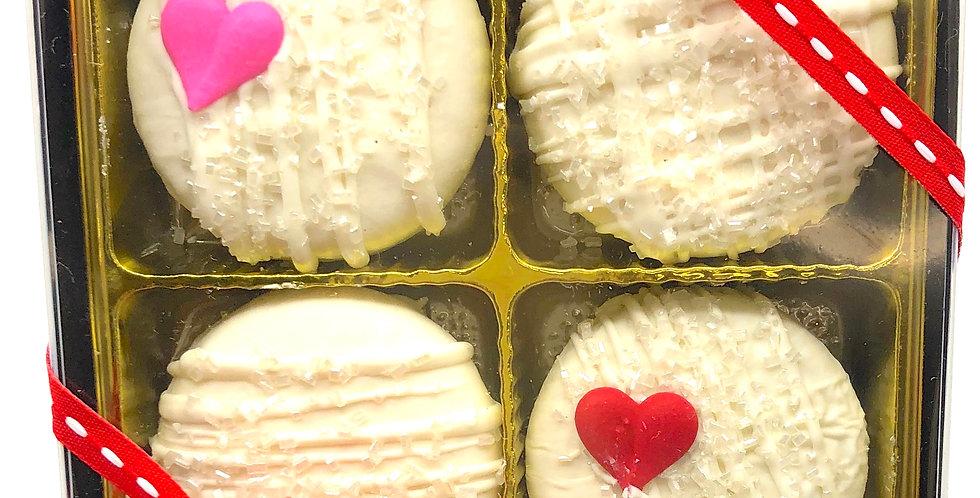 Valentine White Oreo Cookie Box