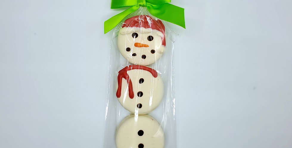 Triple Oreo Cookie Snowman