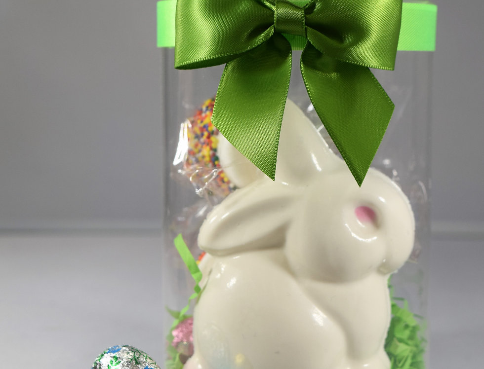 Easter Sitting Bunny Gift Cylinder