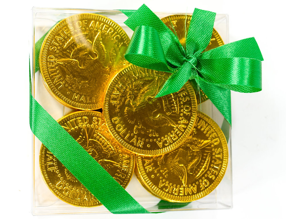 Chocolate Gold Foil Coins