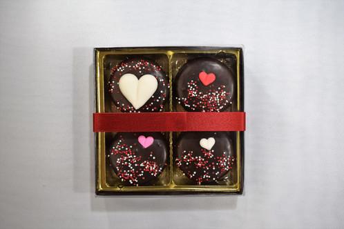 Valentine S Dark Chocolate Covered Oreo Cookie Box