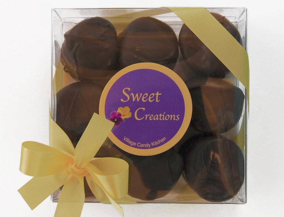Dark Chocolate Covered Marshmallows