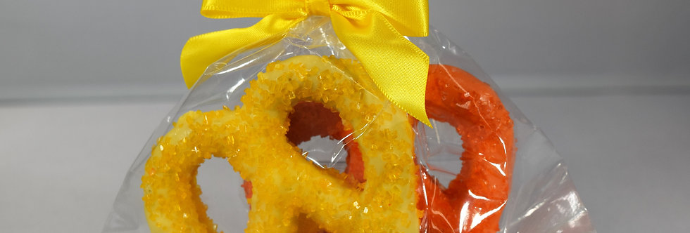 Pretzel Twist Duets - Orange & Lemon