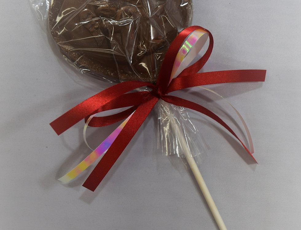 Milk Solid Chocolate Valentine Heart