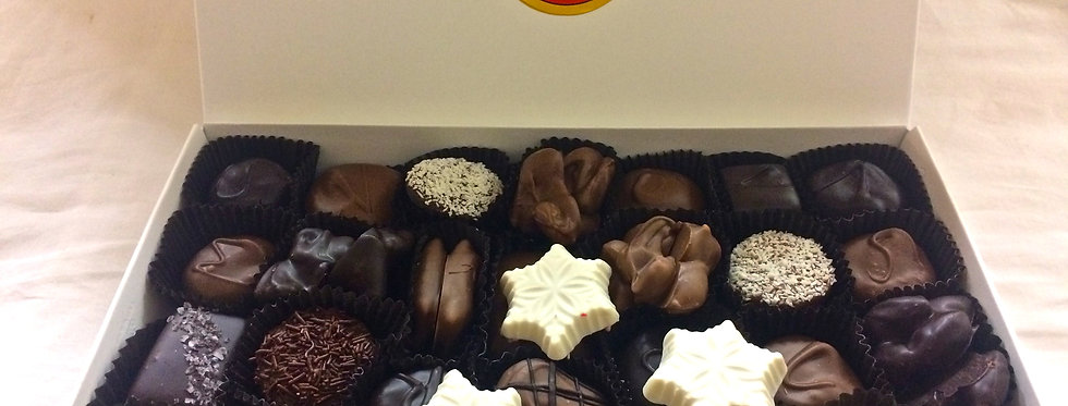 1 lb Holiday Assorted Chocolates
