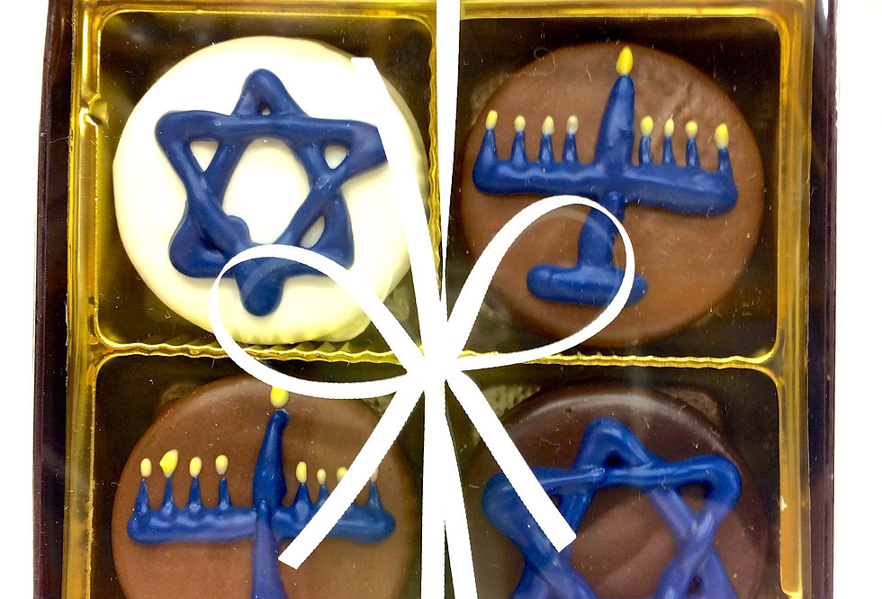 Hannukah Oreo Cookie Box
