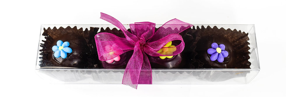 Spring Really Dark Chocolate Truffle