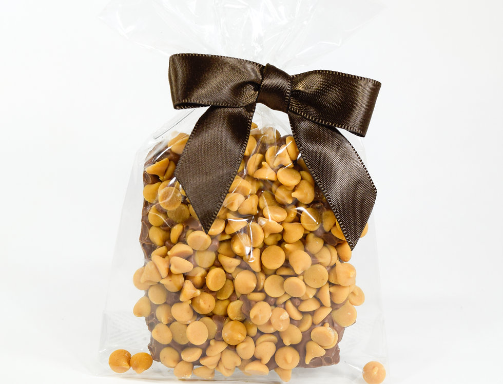Graham Cracker Duet Dipped in Milk Chocolate with Peanut Butter Chips