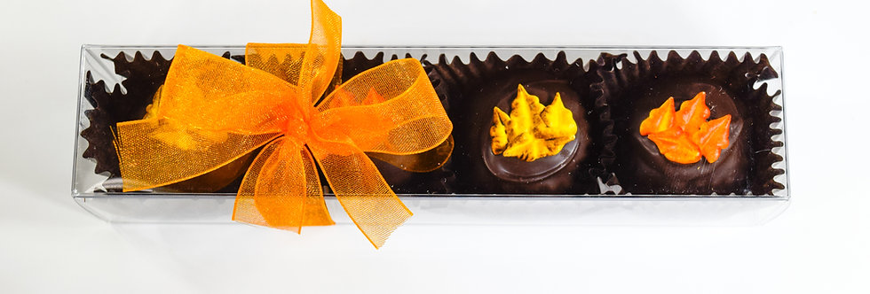 Chocolate Truffles - 4 piece - Fall