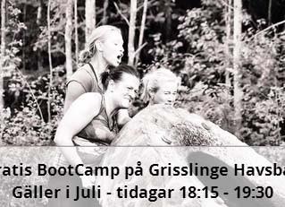 SUMMER BOOTCAMP, gratis sommarträning med Wellnessgruppen & Värmdö BootCamp