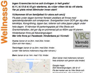 Invigning av Hinderbana på Värmdö och OCR lopp!