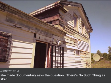 Buffalo news no such things as ghosts doc story 10/15/2020