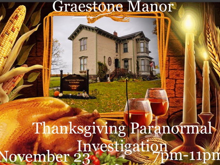 Happy Paranormal Thanksgiving!