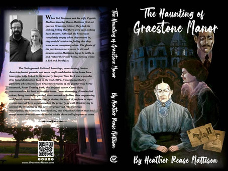 The Haunting of Graestone Manor is AVAILABLE!